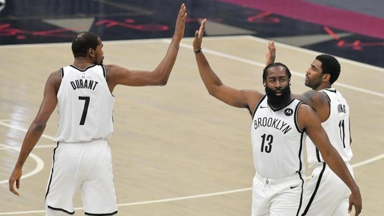 Brooklyn Nets'in müthiş 3'lüsünün 89 sayılık katkısı galibiyeti getirdi