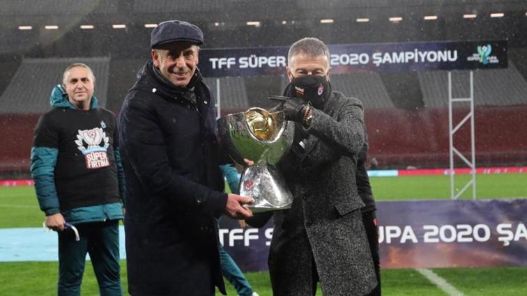 Trabzon yerel basınında Süper Kupa sevinci: Kupa avı başladı, söke söke şampiyon