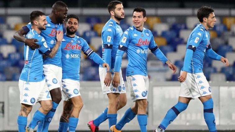 Napoli İtalya Kupası'nda yarı finale adını yazdırdı