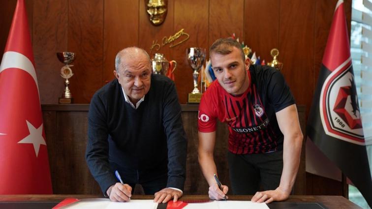 Gaziantep FK Ertuğrul Ersoy'u 1.5 yıllığına kiraladığını açıkladı