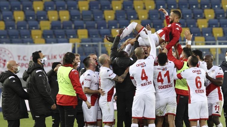 Antalyaspor, Başkentte güldü