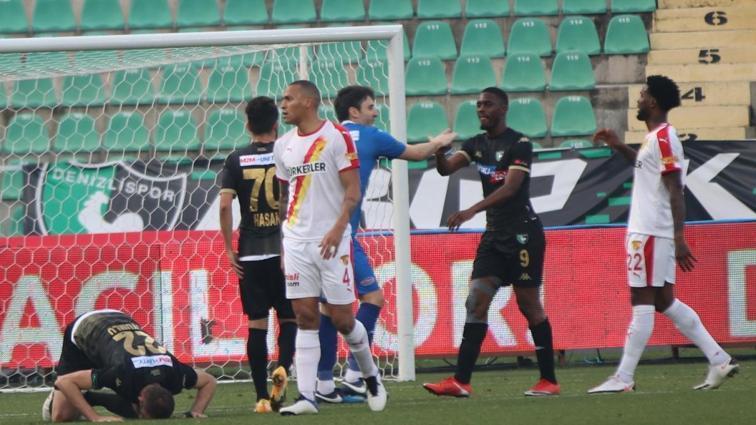 Yukatel Denizlispor-Göztepe maçının ardından