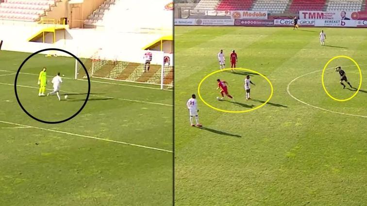 Ümraniyespor-Samsunspor maçının son dakikalarında yaşananlar gündeme oturdu