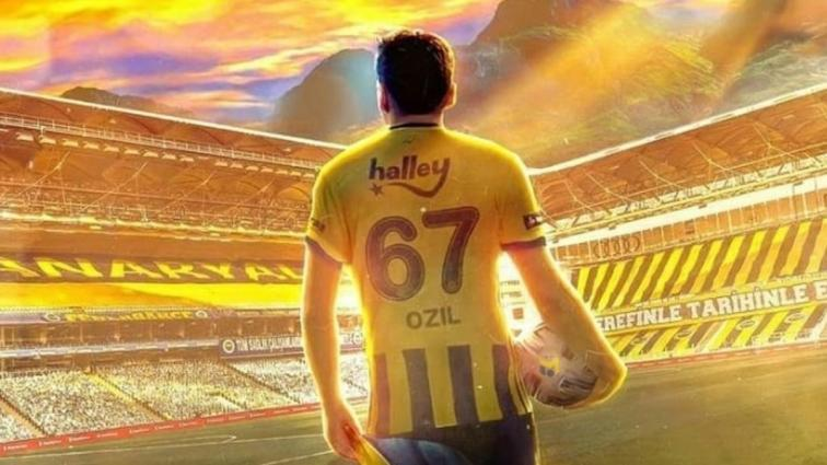 Fenerbahçe'nin yıldızı Mesut Özil'den Galatasaray derbisi paylaşımı