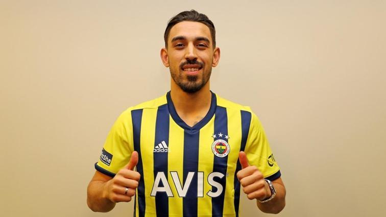 Fenerbahçe'nin yeni transferi İrfan Can Kahveci, Fatih Karagümrük maçında sahada