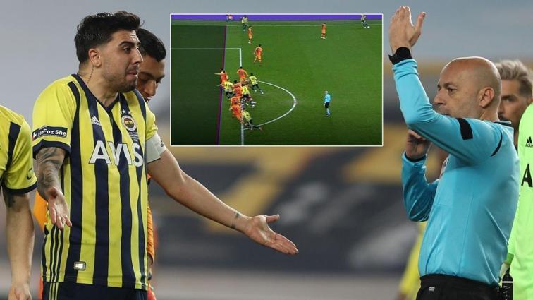 Fenerbahçe-Galatasaray derbisinde Ozan Tufan'ın golü VAR'dan döndü