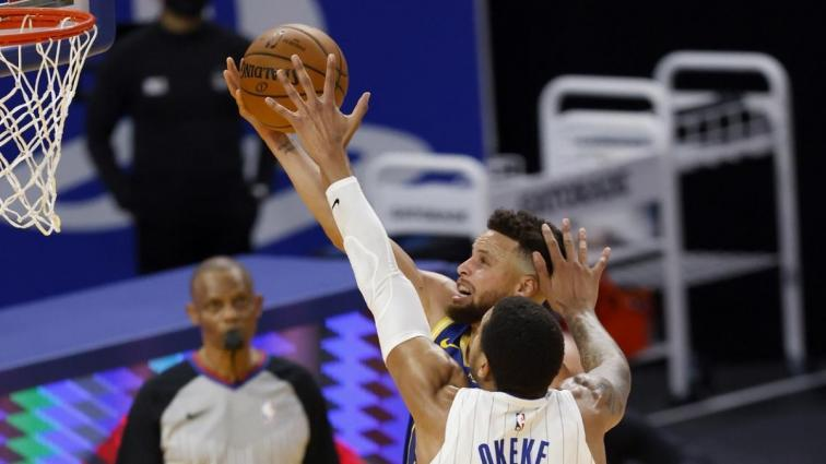 Stephen Curry'nin 40 sayısı Golden State Warriors'a galibiyeti getirdi
