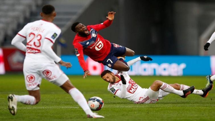 Lille, Brest ile berabere kaldı