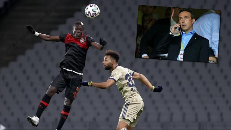 Ali Koç, maçın ardından Alassane Ndao'nun menajerini aradı: Çok beğendik, sezon sonu istiyoruz
