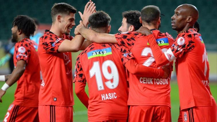 Beşiktaş'ta gol atan oyuncu sayısı 19'a yükseldi