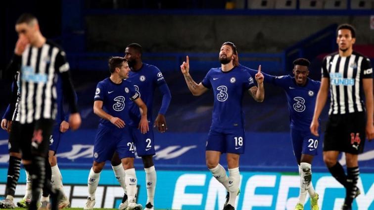 Chelsea Newcastle United'ın fişini ilk yarıda çekti