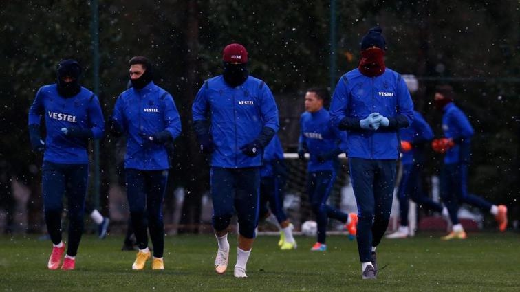 Trabzonspor, Başakşehir'e hazırlanıyor