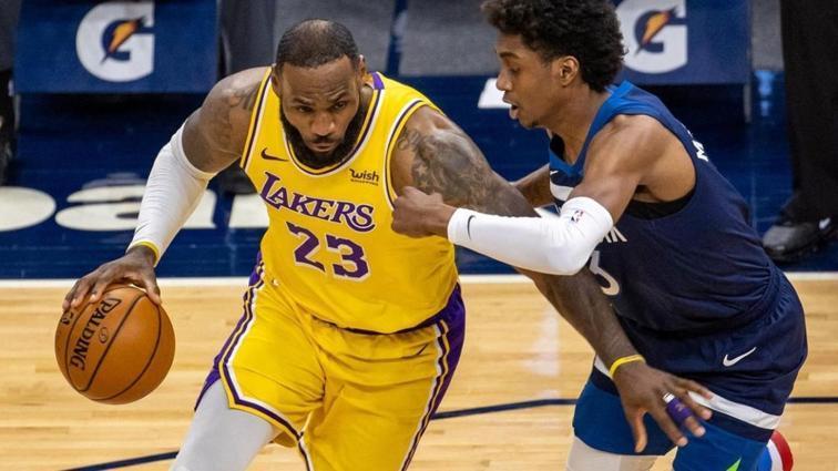 LeBron James böyle istedi! Los Angeles Lakers kazandı...