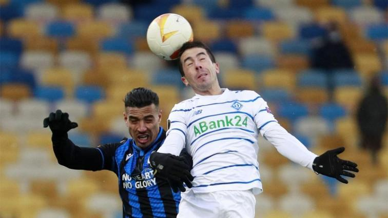 Dinamo Kiev ve Club Brugge, berabere kaldı
