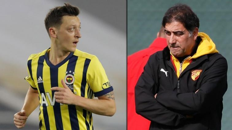 Göztepe'den Mesut Özil'e özel önlem
