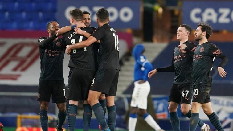 Manchester City deplasmanda Everton'ı da yenip serisini 17 maça çıkardı