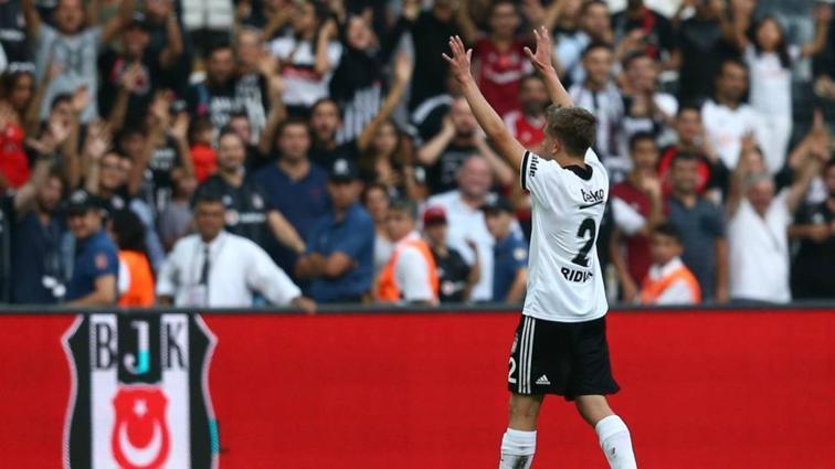 Beşiktaş'a genç yıldızı Rıdvan'dan iyi haber geldi