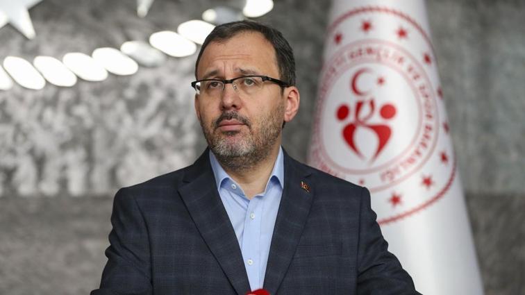 Gençlik ve Spor Bakanı Kasapoğlu'na Kulüpler Birliği Vakfı'ndan ziyaret