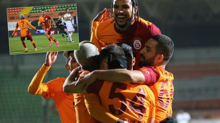 Galatasaray, kritik virajdan hasarsız döndü! 0-1