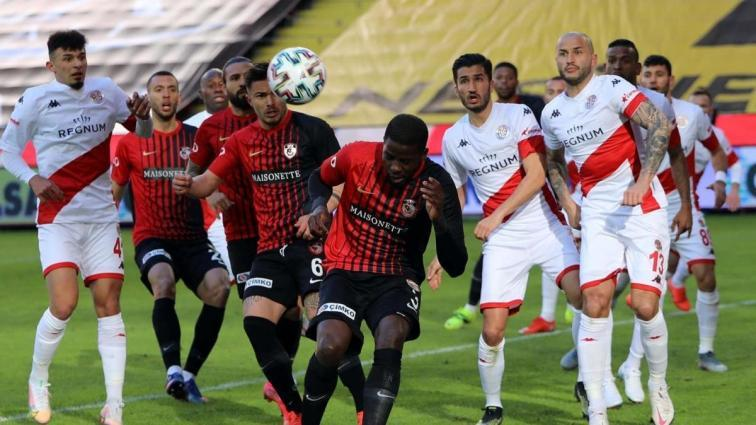 Antalya ile Gaziantep yenişemedi, Ersun Yanal'ın takımı yine kaybetmedi