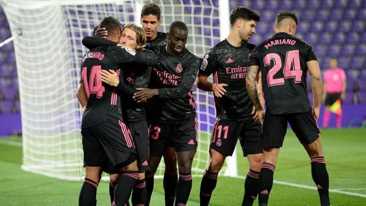 Real Madrid Atletico Madrid'in ensesine yapıştı