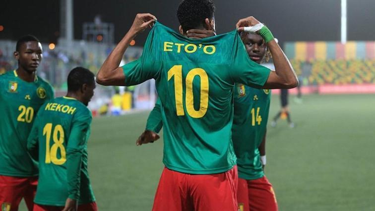 Samuel Eto'o'nun oğlu Mozambik karşısındaki performansıyla dikkat çekti