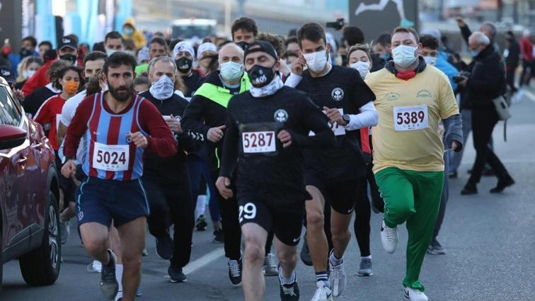 41'inci Uluslararası Trabzon Yarı Maratonu koşuldu