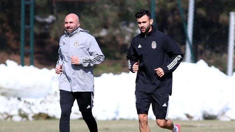Beşiktaş'ta Rachid Ghezzal bireysel çalışmalara başladı