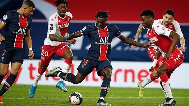 Paris Saint-Germain'e şampiyonluk yarışında Monaco dur dedi