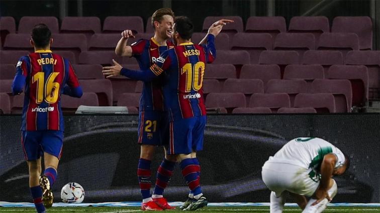 Erteleme maçında Barça güldü; Messi gol krallığında zirvede tek başına kaldı