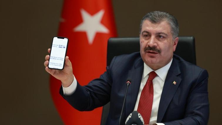 Sağlık Bakanı Fahrettin Koca'dan taraftarlara mesaj