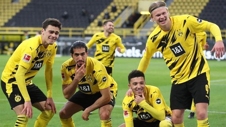 Borussia Dortmund, ikinci yarı güldü