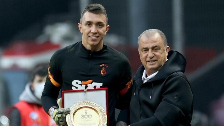 Fernando Muslera, Galatasaray ile 300 dedi