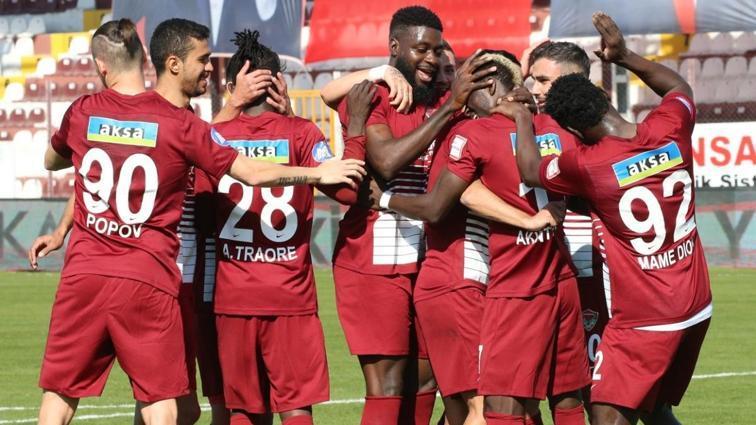MKE Ankaragücü deplasmanda Hatayspor'a 4-1 mağlup oldu