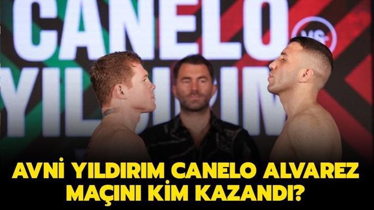 """Avni Yıldırım ve Canelo Alvarez maçında ne oldu"""" Avni Yıldırım maçını kim kazandı"""""""