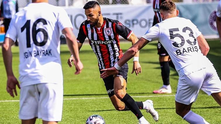 Samsunspor son dakika golüyle yenilmezlik serisini korudu