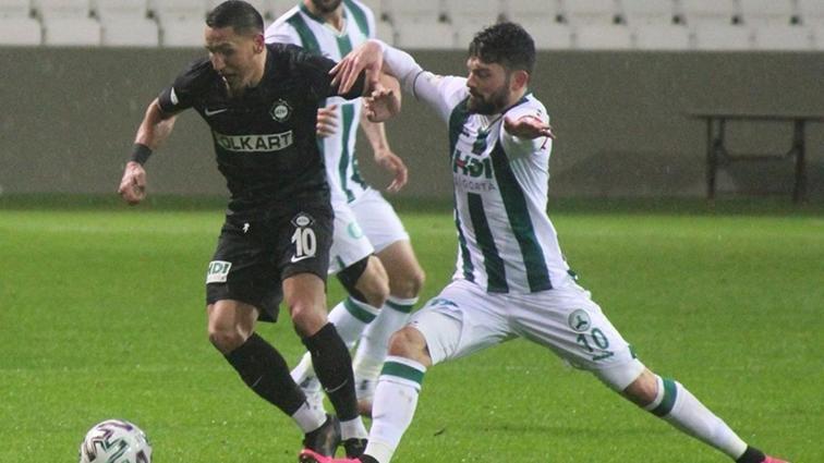 Altay, Giresunspor'un 12 maçlık galibiyet serisine son verdi