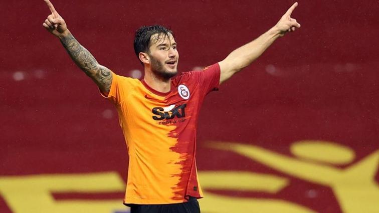 Galatasaray'da Oğulcan Çağlayan sevinci