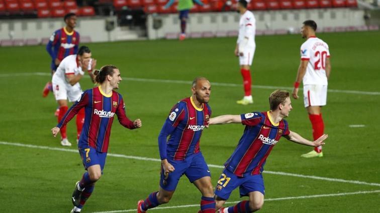 İspanya Kral Kupası'nda Barcelona, Sevilla'yı eleyip finale yükseldi