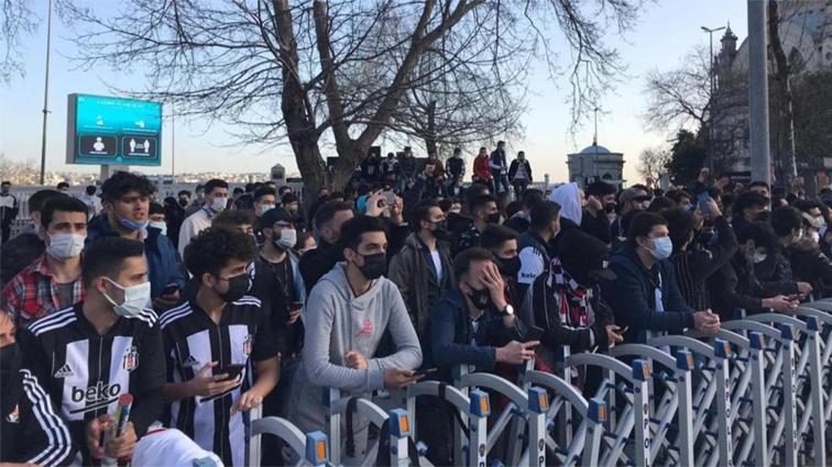 Beşiktaşlı taraftarlar harekete geçti!