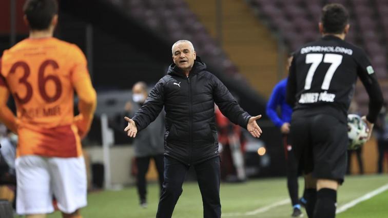 Rıza Çalımbay: Galatasaray'dan puan aldığımız için memnunuz
