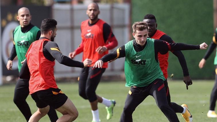 Galatasaray'da Emre Taşdemir takımdan ayrı çalıştı