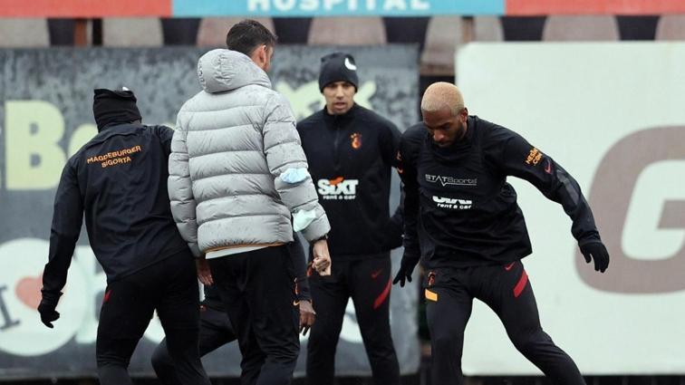 Kayserispor maçına hazırlanan Galatasaray taktik çalıştı
