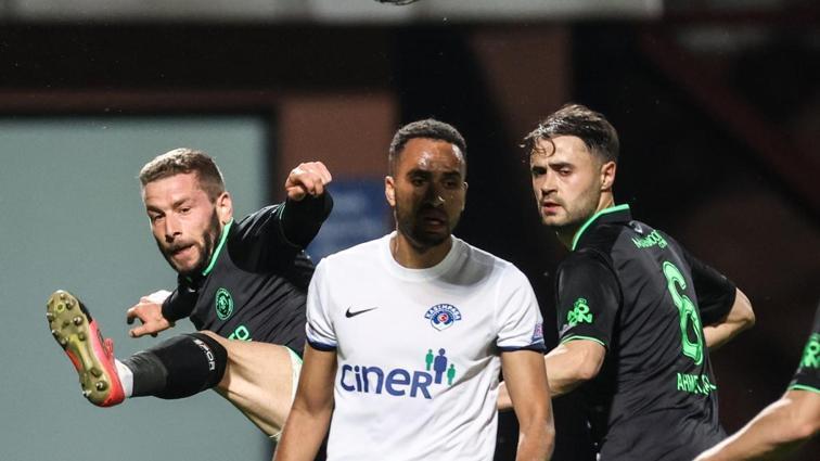 Kasımpaşa ile Konyaspor, uzatmalarda açıldı