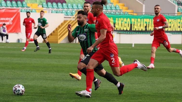 Akhisarspor'un galibiyet serisi 2 maçta kaldı! Keçiörengücü 3 puanı kaptı...