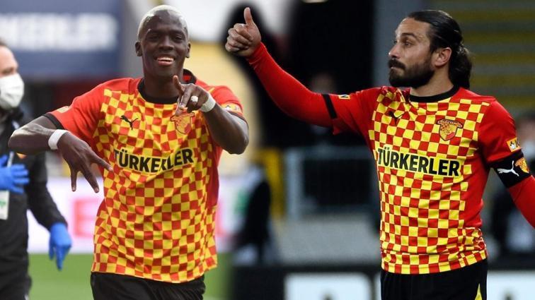 Göztepe'de gol yükü Halil Akbunar ve Cherif Ndiaye'nin omuzlarında