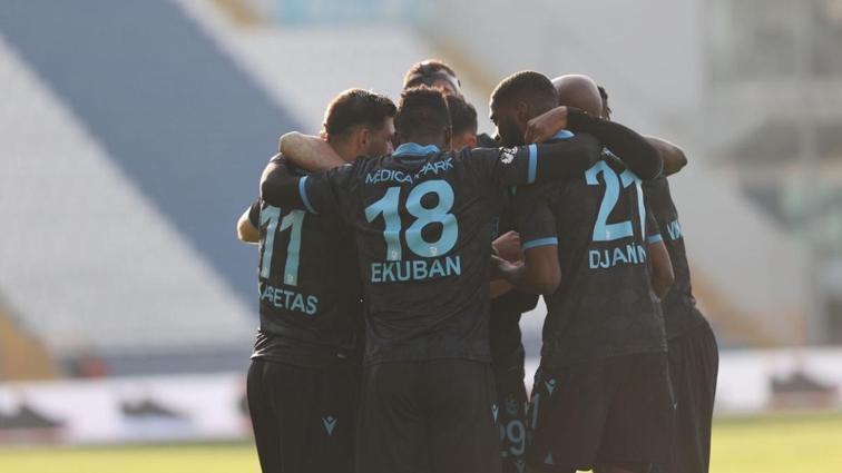 Trabzonspor'da derbi sonrası üst sıralar için umutlar arttı