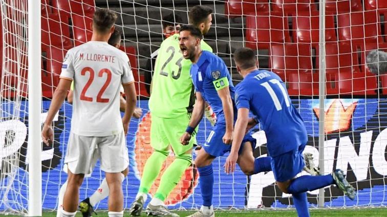 Bakasetas attı, Yunanistan İspanya karşısında 1 puanı kaptı