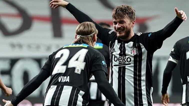 Beşiktaş'ta Adem Ljajic hırsıyla dikkat çekiyor