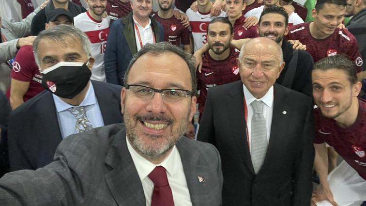 TFF Başkanı Nihat Özdemir'den maç sonu sözleri: Hedef Dünya Kupası
